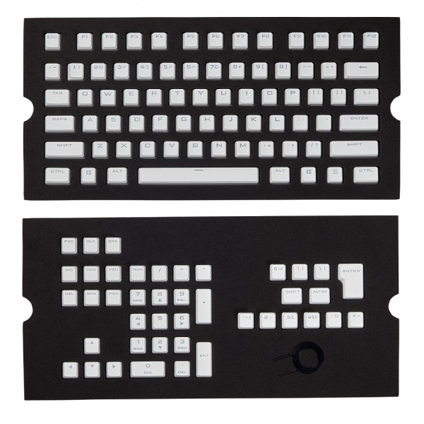 Corsair PBT Double-shot Full 104/105-Keyset White