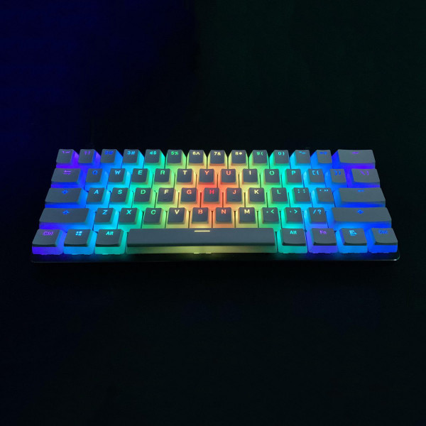 Glorious Aura PBT Keycaps White