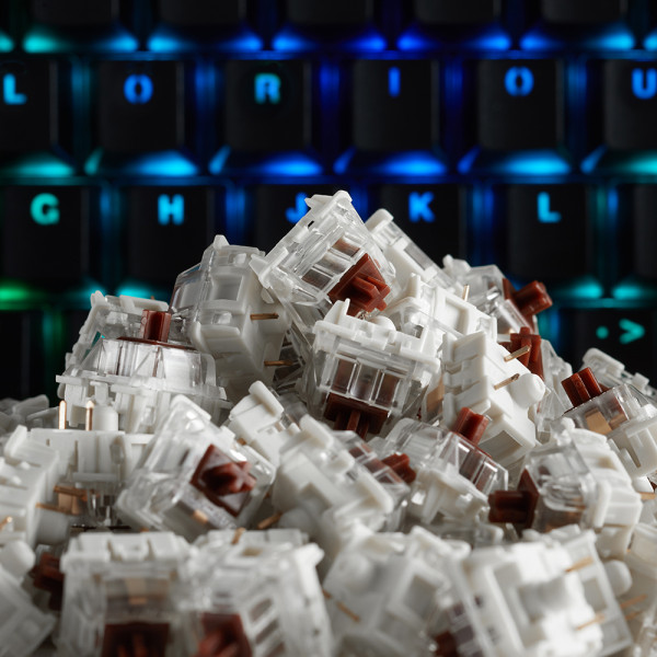 Glorious Mechanical Switches Pack Gateron Brown (120 pcs)