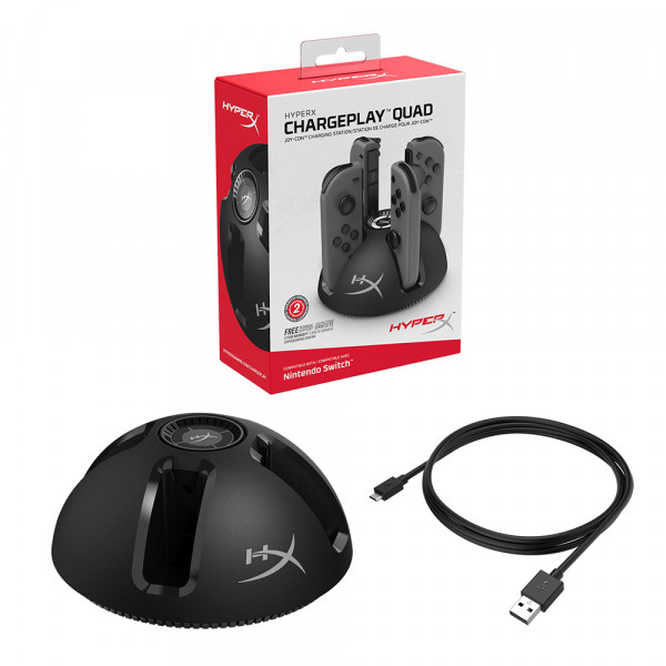 HyperX Chargeplay Quad Joy-con