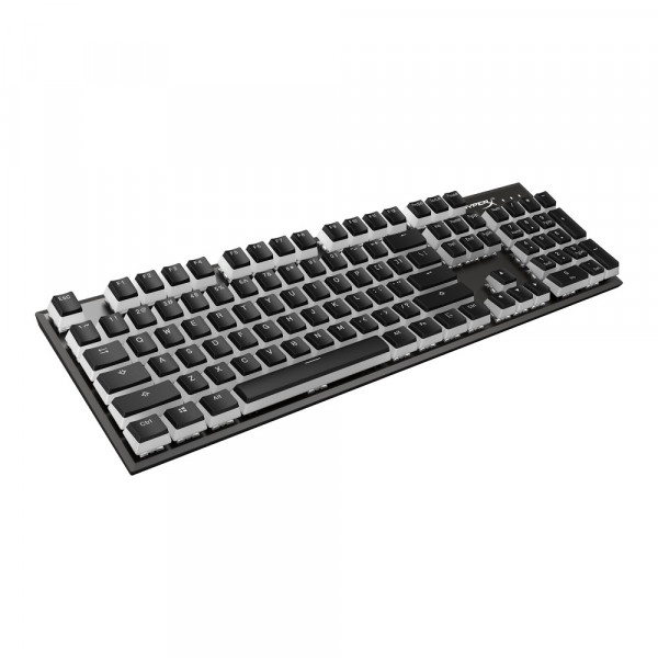 HyperX Double Shot PBT Keycaps Full 104 US Black