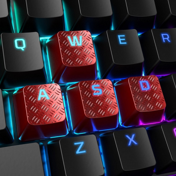 HyperX FPS/MOBA Gaming Keycaps, Red
