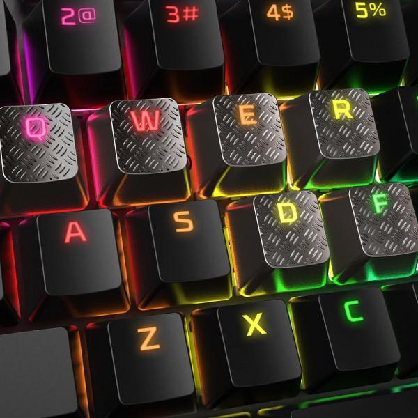 HyperX FPS/MOBA Gaming Keycaps, Titanium