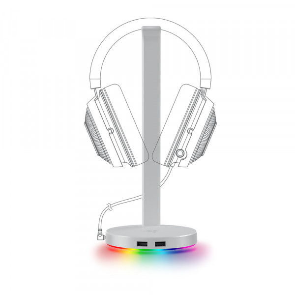 Razer Base Station V2 Chroma Mercury White