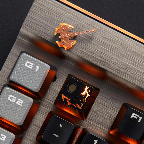 Zomoplus Aluminum Keycap Battle Fury