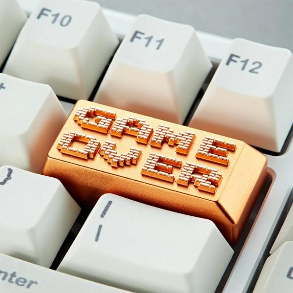 Zomoplus Aluminum Keycap Game Over