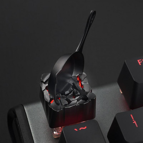 Zomoplus Aluminum Keycap Magnetic Pan