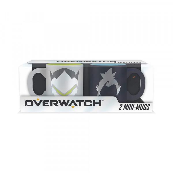 ABYstyle 2 Mini-Mugs Overwatch: Hanzo & Genji