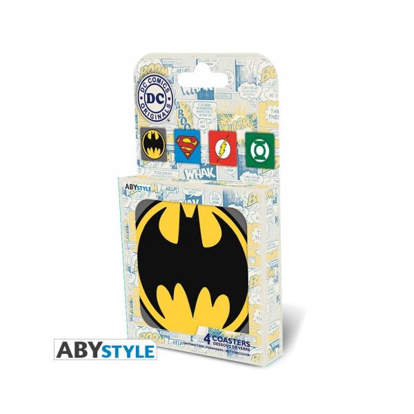ABYstyle Coasters DC Comics: Emblem