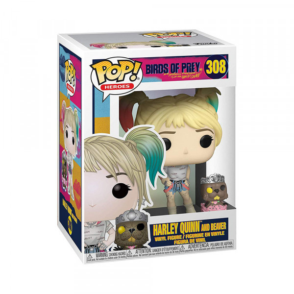 Funko POP! Birds of Prey: Harley Quinn and Beaver