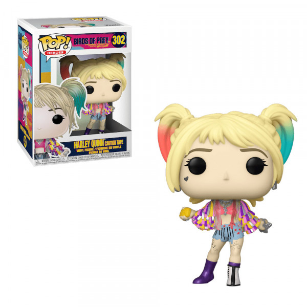 Funko POP! Birds of Prey: Harley Quinn Caution Tape