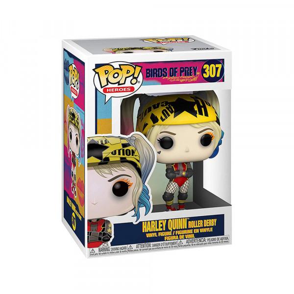 Funko POP! Birds of Prey: Harley Quinn Roller Derby