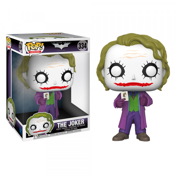 Funko POP! DC The Dark Knight Trilogy: Joker 10""