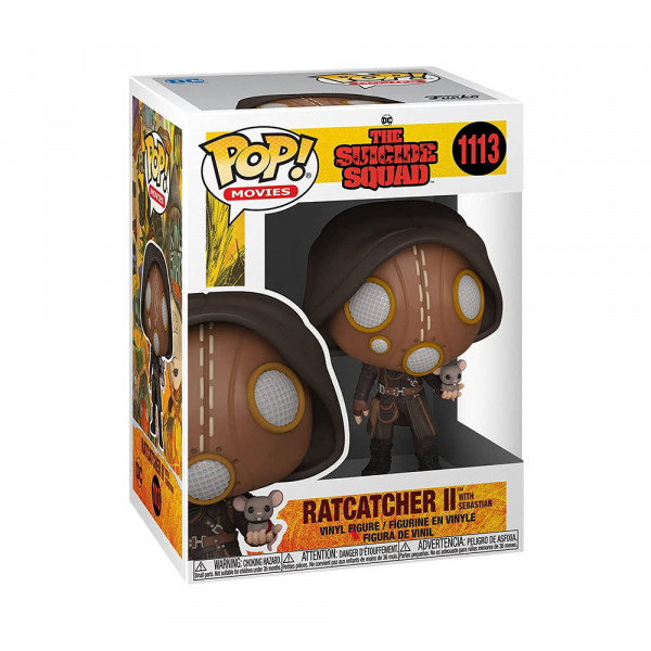 Funko POP! The Suicide Squad: Ratcatcher II with Sebastian