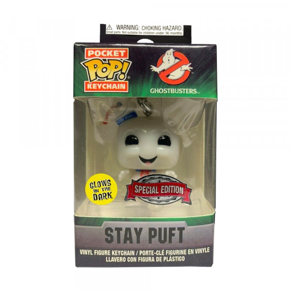 Funko POP! Keychain Ghostbusters: Stay Puft (Glow in the Dark)