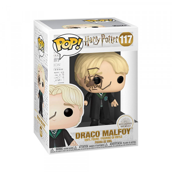Funko POP! Harry Potter: Draco Malfoy with Whip Spider