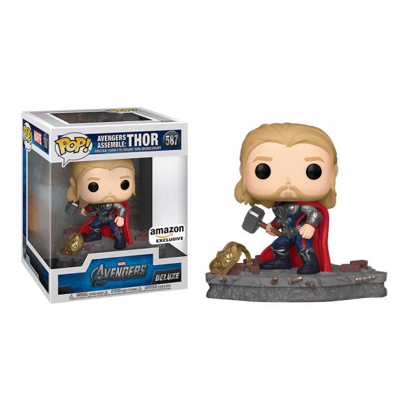 Funko POP! Deluxe Marvel Avengers Assemble: Thor