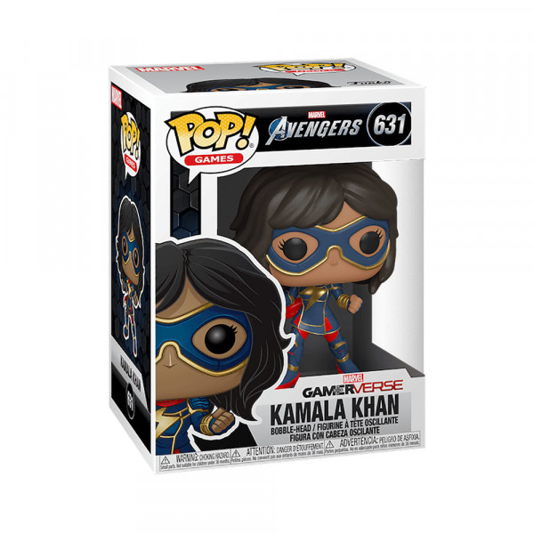 Funko POP! Games Marvel Avengers: Kamala Khan