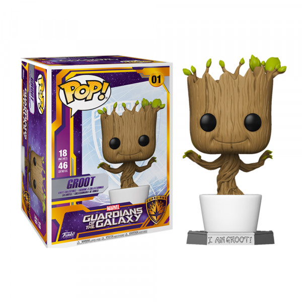 Funko POP! Guardians of the Galaxy: Groot 18""
