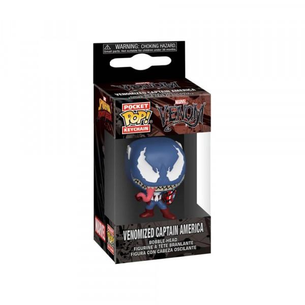 Funko POP! Keychain Marvel Venom: Venomized Captain America