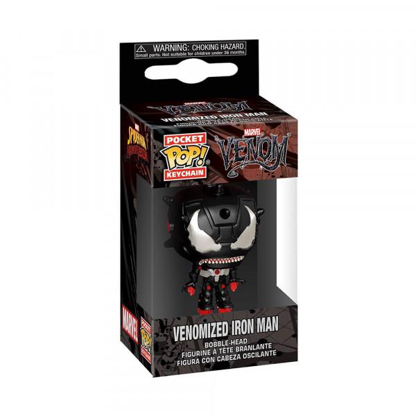 Funko POP! Keychain Marvel Venom: Venomized Iron Man