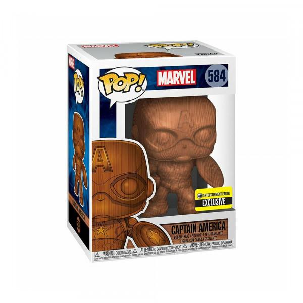 Funko POP! Marvel: Captain America (Entertainment Earth Exc.)