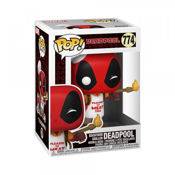 Funko POP! Marvel Deadpool: Backyard Griller Deadpool