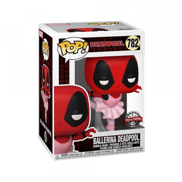 Funko POP! Marvel Deadpool: Ballerina Deadpool