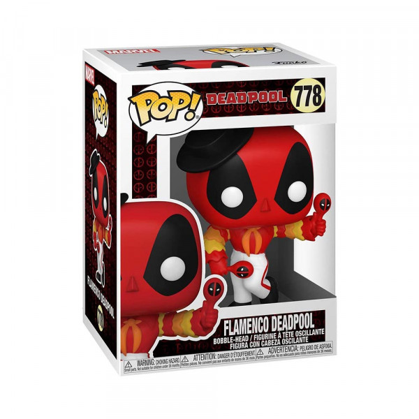 Funko POP! Marvel Deadpool: Flamenco Deadpool