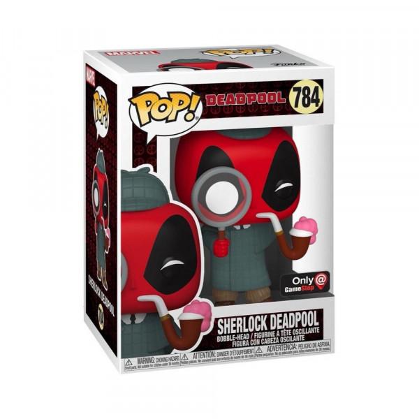 Funko POP! Marvel Deadpool: Sherlock Deadpool