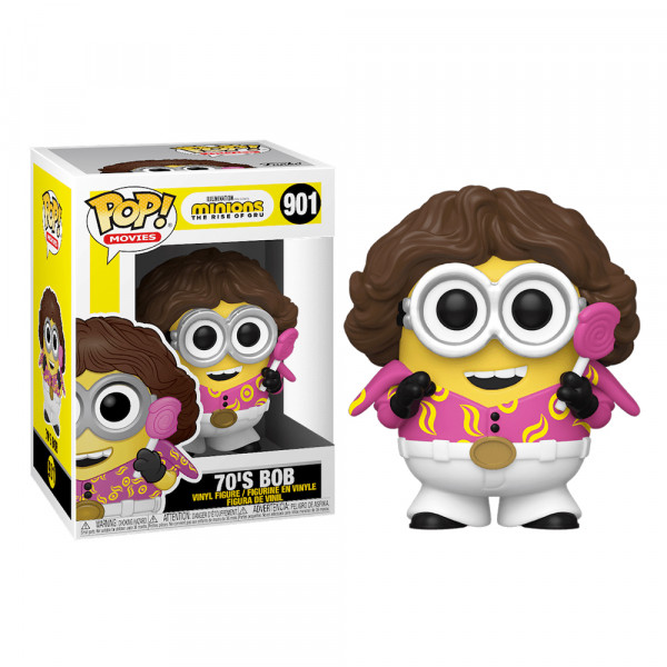 Funko POP! Minions 2 The Rise of Gru: 70's Bob