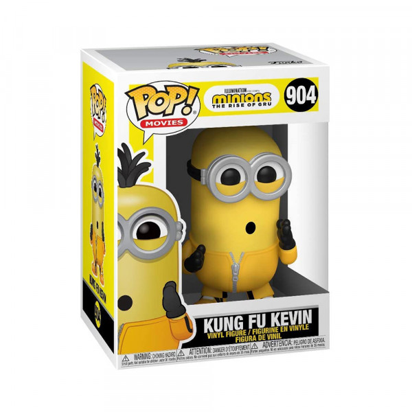 Funko POP! Minions 2 The Rise of Gru: Kung Fu Kevin
