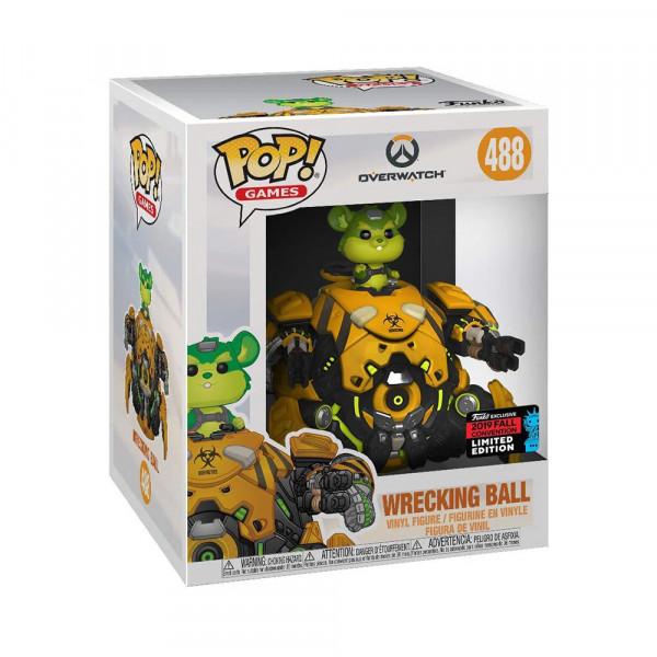 "Funko POP! Overwatch: Wrecking Ball Toxic 6"""