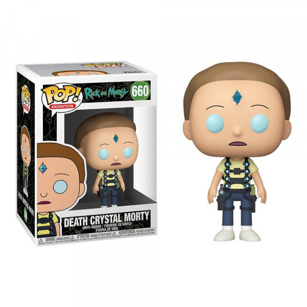 Funko POP! Rick and Morty: Death Crystal Morty