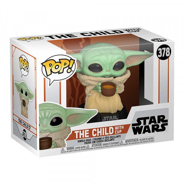 Funko POP! Star Wars The Mandalorian: The Child with Cup