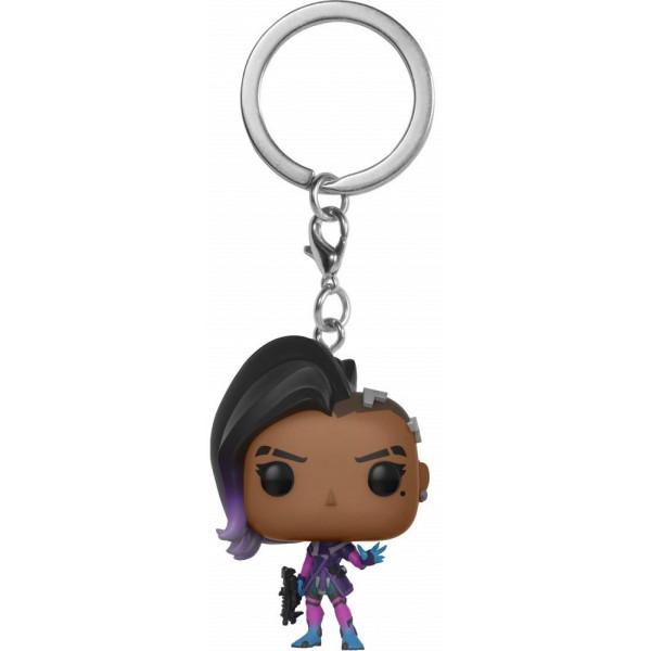 FUNKO POP Keychain Overwatch Sombra