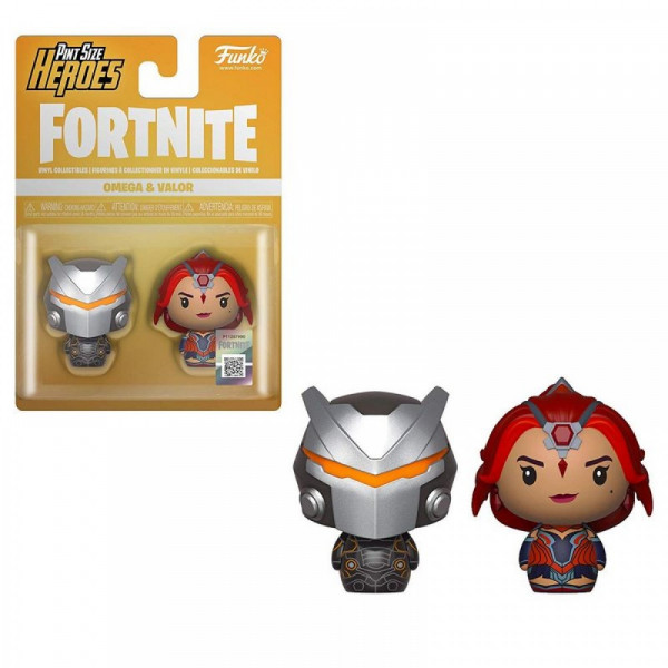 Funko Pint Size Fortnite S1: Omega & Valor