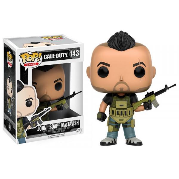 """FUNKO POP Call of Duty: John """"SOAP"""" MacTavish"""