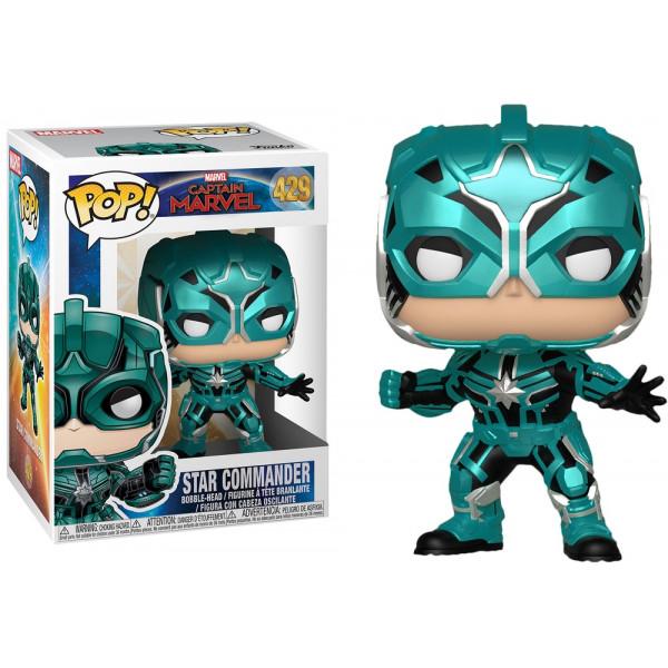 Funko POP! Captain Marvel: Star Commander