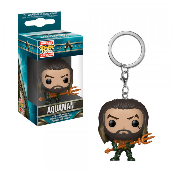 Funko POP! Keychain Aquaman: Arthur Curry (as Gladiator)