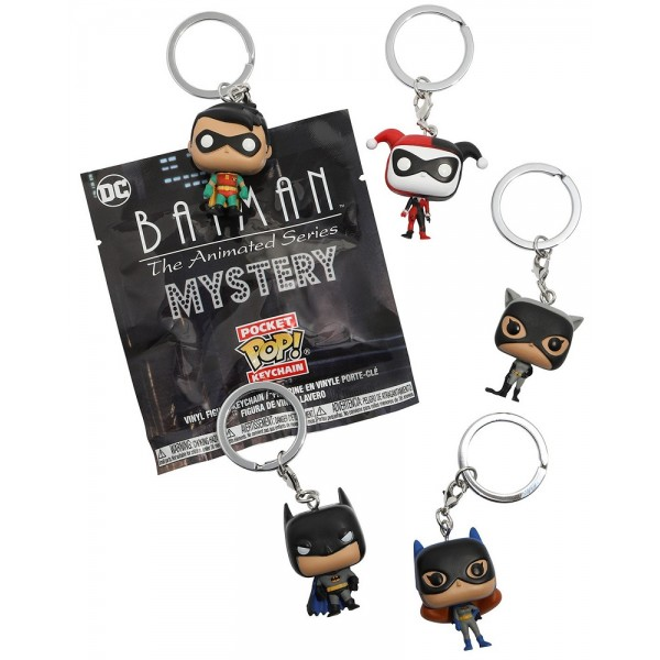FUNKO POP Keychain DC Comics Batman The Animated Series