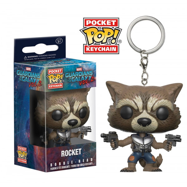FUNKO POP Keychain Guardians of the Galaxy 2 Rocket