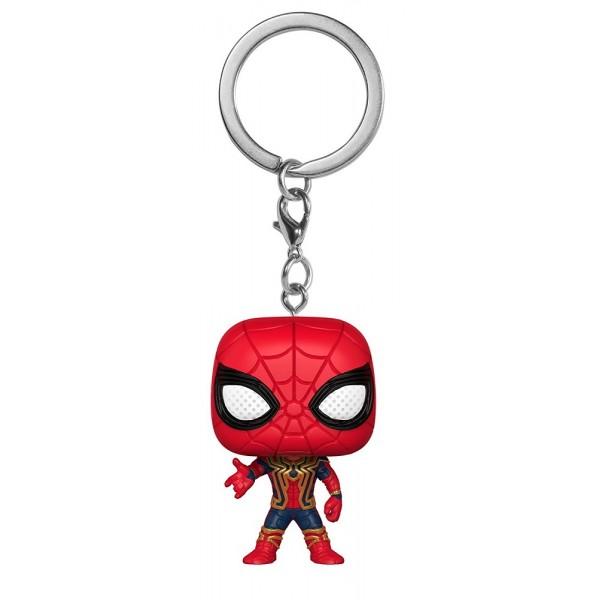 FUNKO POP Keychain Marvel Avengers Infinity War Iron Spider