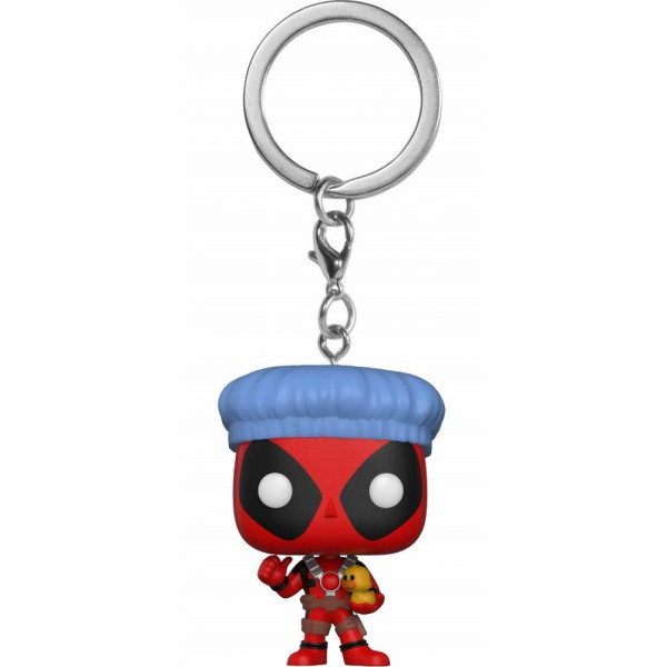 FUNKO POP Keychain Marvel: Bathtime Deadpool