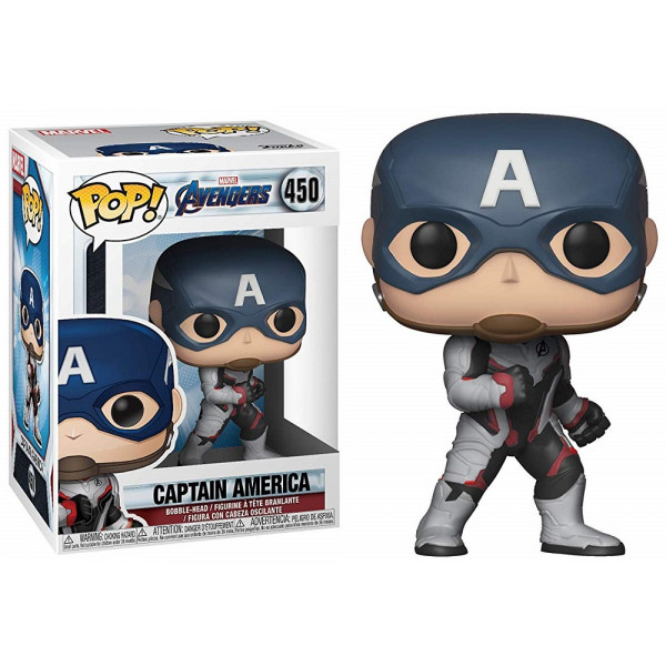 Funko POP! Marvel Avengers Endgame: Captain America