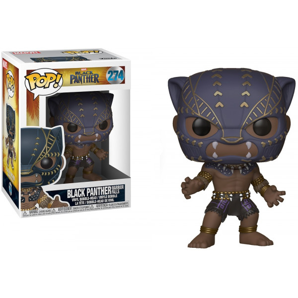 FUNKO POP Marvel: Black Panther Warrior Falls