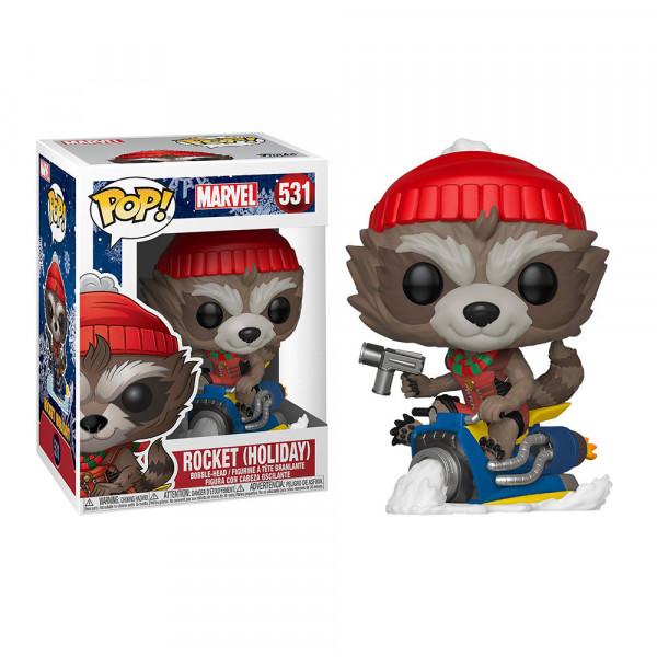Funko POP! Marvel Holiday: Rocket