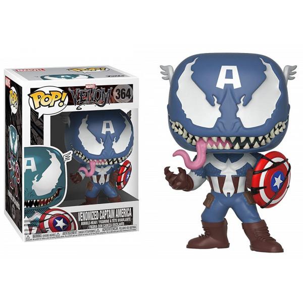 FUNKO POP Marvel Venom: Venom/Captain America