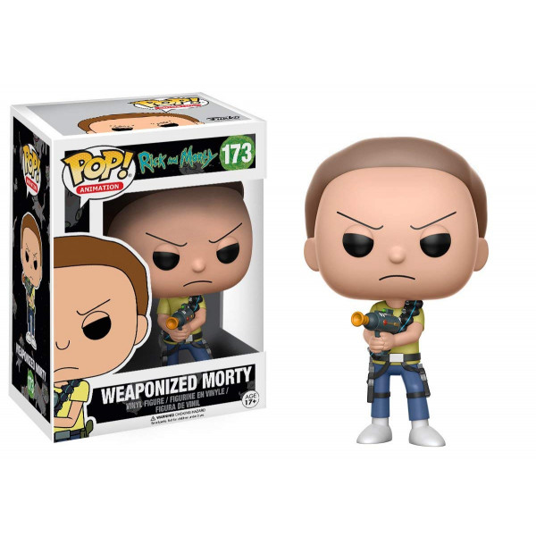 Funko POP! Rick and Morty: Weaponized Morty