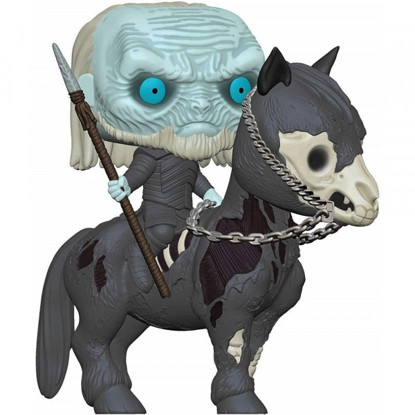 Funko POP! Rides Game of Thrones S10: Mounted White Walker